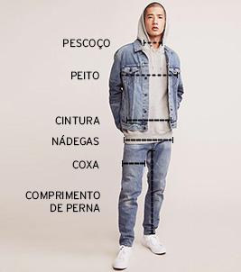 Como os homens compram jeans? Like A Man