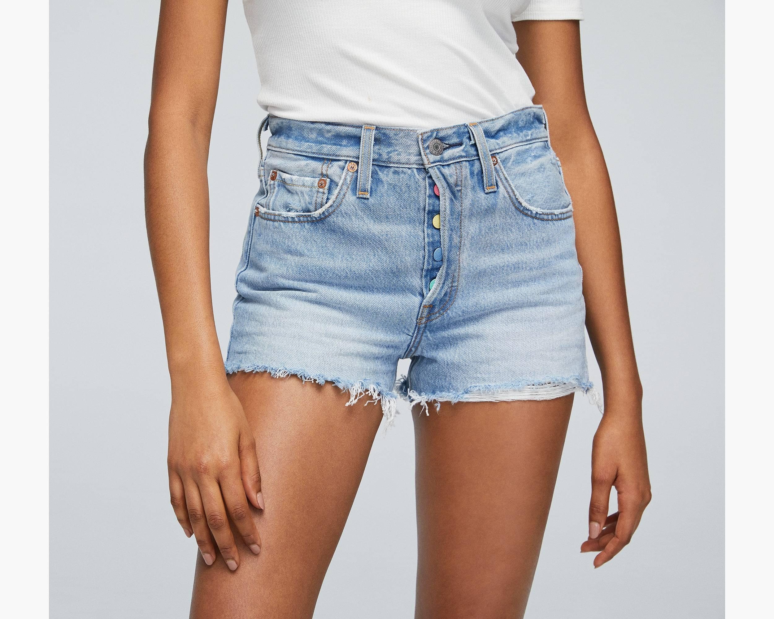 3ca57ea206 501 Customized High Rise Short - Levi's Jeans, Jackets & Clothing