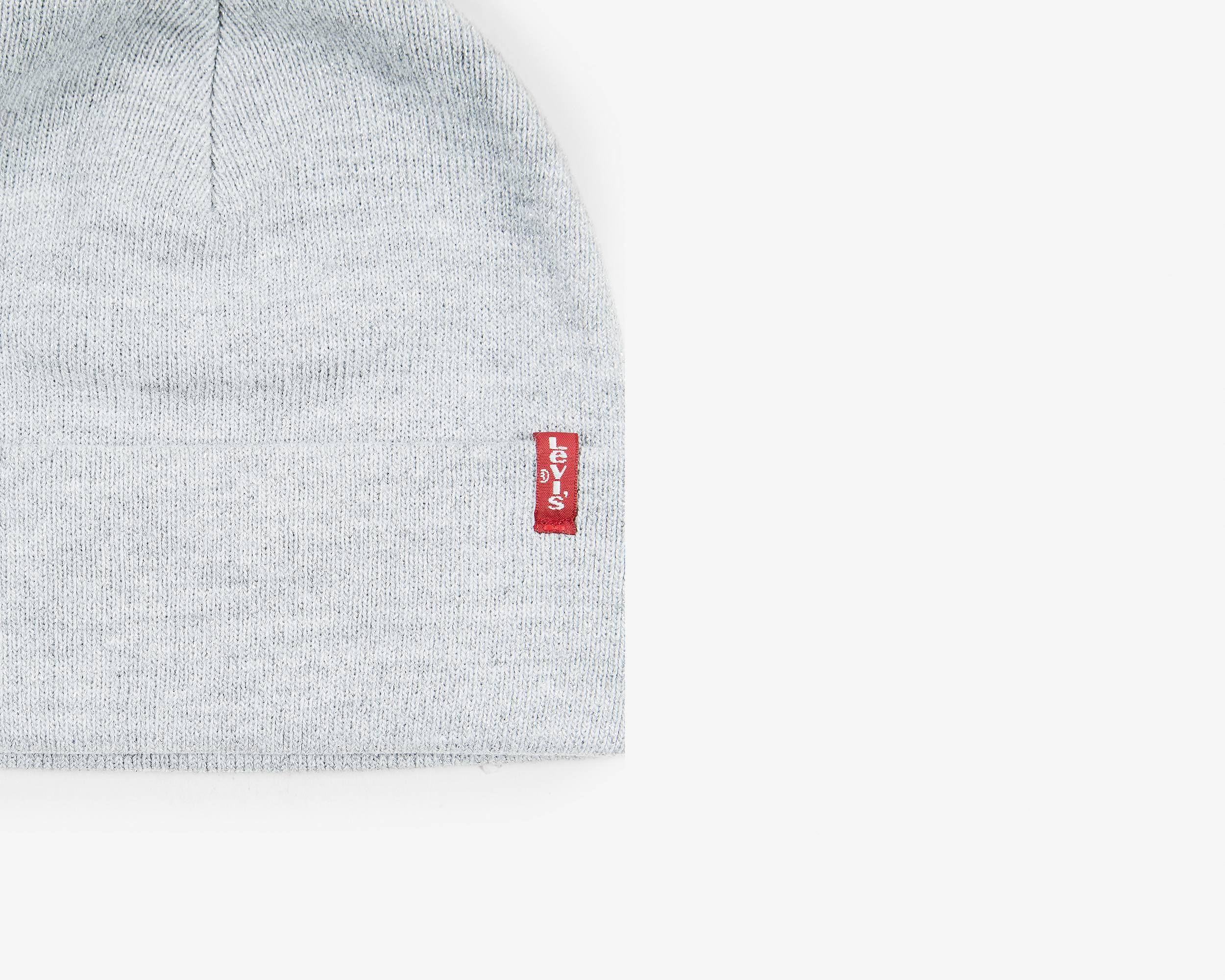 Sparkle Lurex Red Tab Beanie - Levi s Jeans 760d78f91815