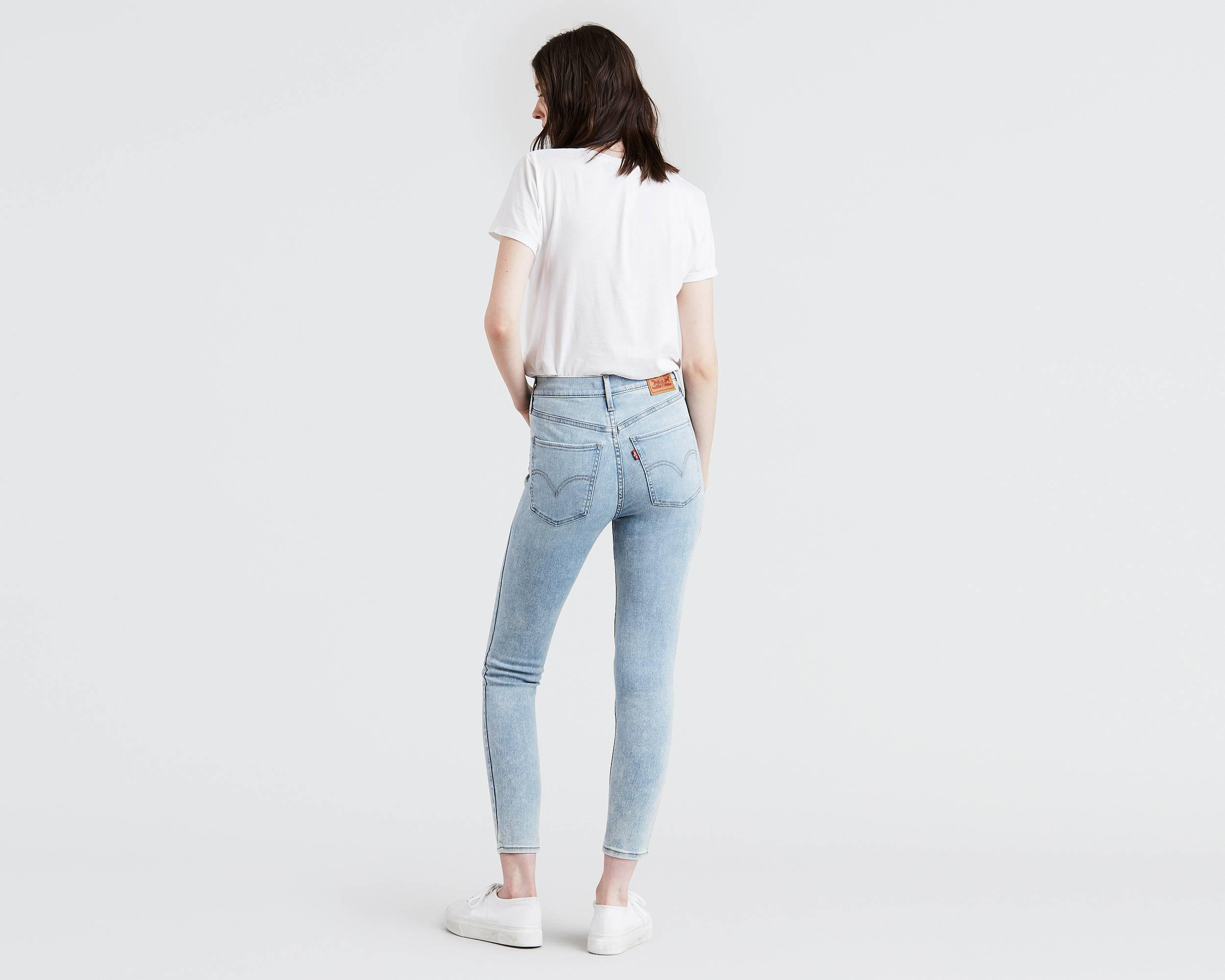 583c4725253500 Mile High Super Skinny Ankle Jeans - Levi's Jeans, Jackets & Clothing