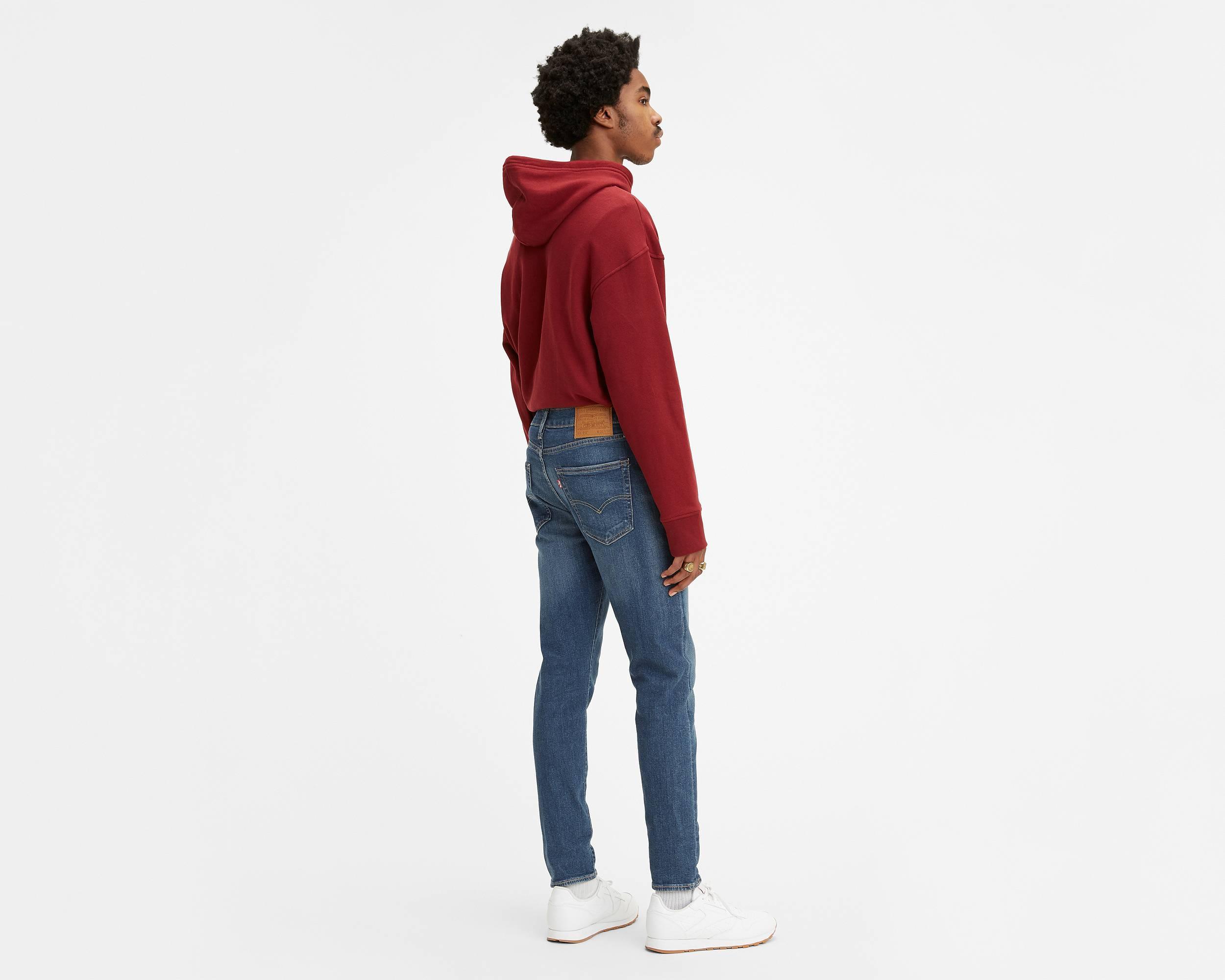 lee cintura elástica jeans mens